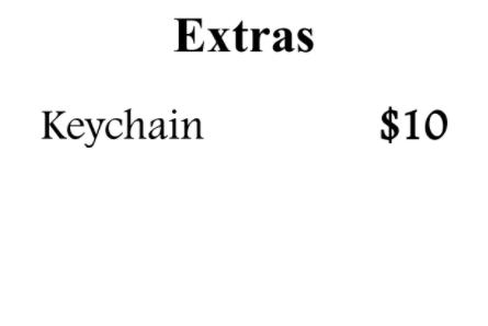 Keychain - K