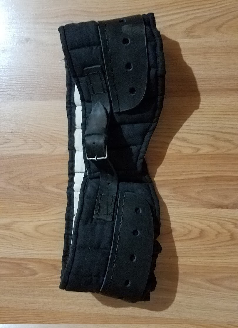 (AWD) Padded Arming Belt Closed with a Buckle