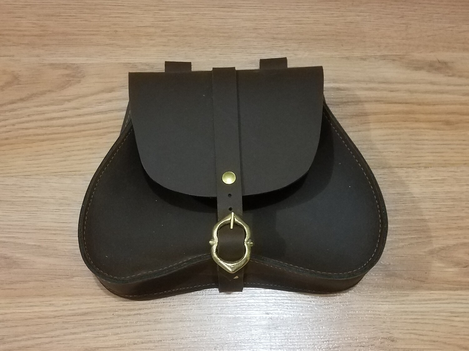 (NMC) Leather Pouch Type 2 / Color: Brown