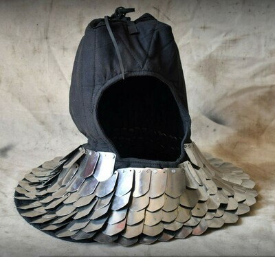 (HBC) Helmet Liner with Scale Collar