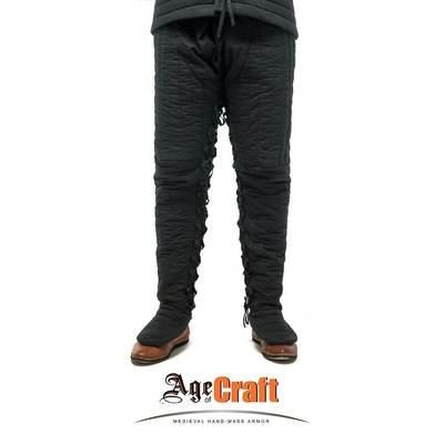 (AOC) Premium Quality Linen & Wool Padded Pants