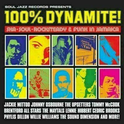 Various - 100% Dynamite! Ska Soul Rocksteady & Funk in Jamaica [2LP]