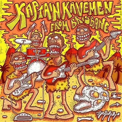 Various - Kaptain Kavemen From Brisbane [LP], Mono