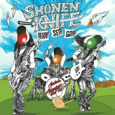 Shonen Knife - Ready! Set!! Go!!! [LP]