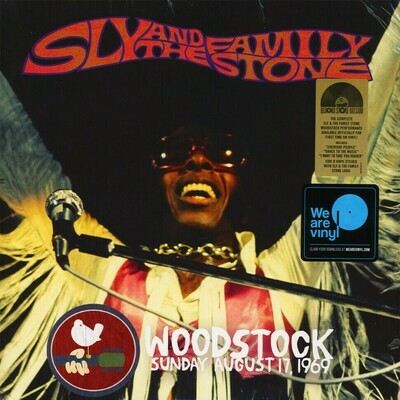 Sly & The Family Stone - Woodstock Sunday August 17, 1969 [2LP]