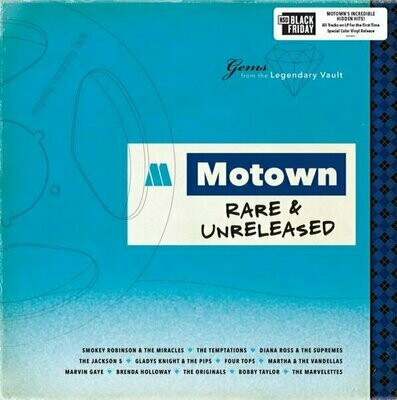Various - Motown: Rare & Unreleased (Blue) [LP]