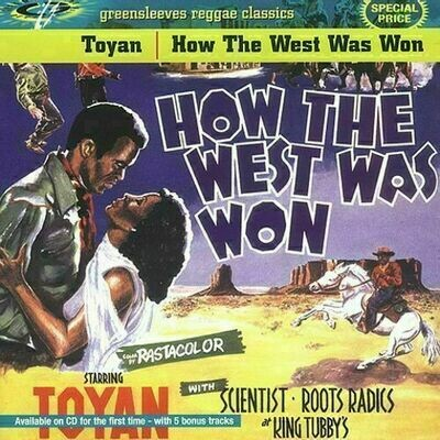 Toyan with Roots Radics & Scientist - How the West Was Won [LP]