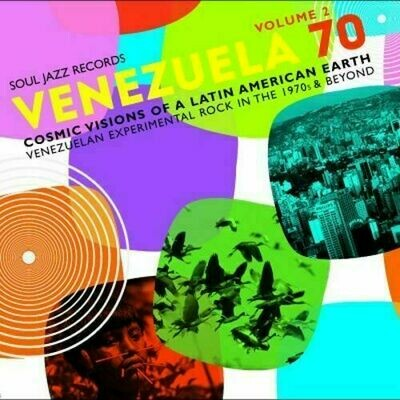 Various - Venezuela 70 Volume 2 (Cosmic Visions Of A Latin American Earth: Venezuelan Experimental Rock In The 1970's & Beyond) [2LP]