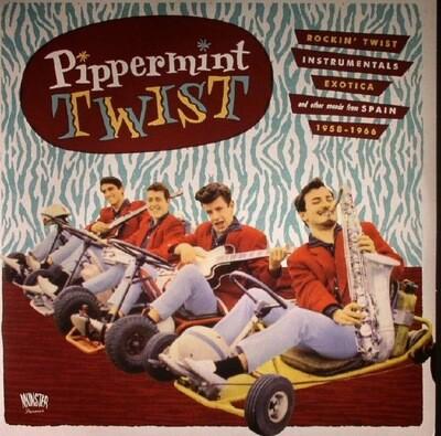Various - Pippermint Twist (Rockin' Twist - Instrumentals - Exotica And Other Sound From Spain 1958-1966) [2LP], Comp, Ltd, Gat