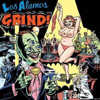 Various - Los Alamos Grind! [LP], Comp, Ltd, (Blue)