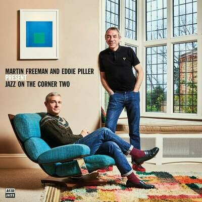 Martin Freeman And Eddie Piller - Present Jazz On The Corner Two [2LP]