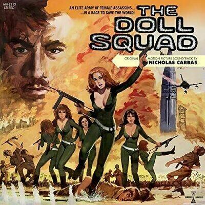 Nicholas Carras - The Doll Squad OST [LP+DVD]