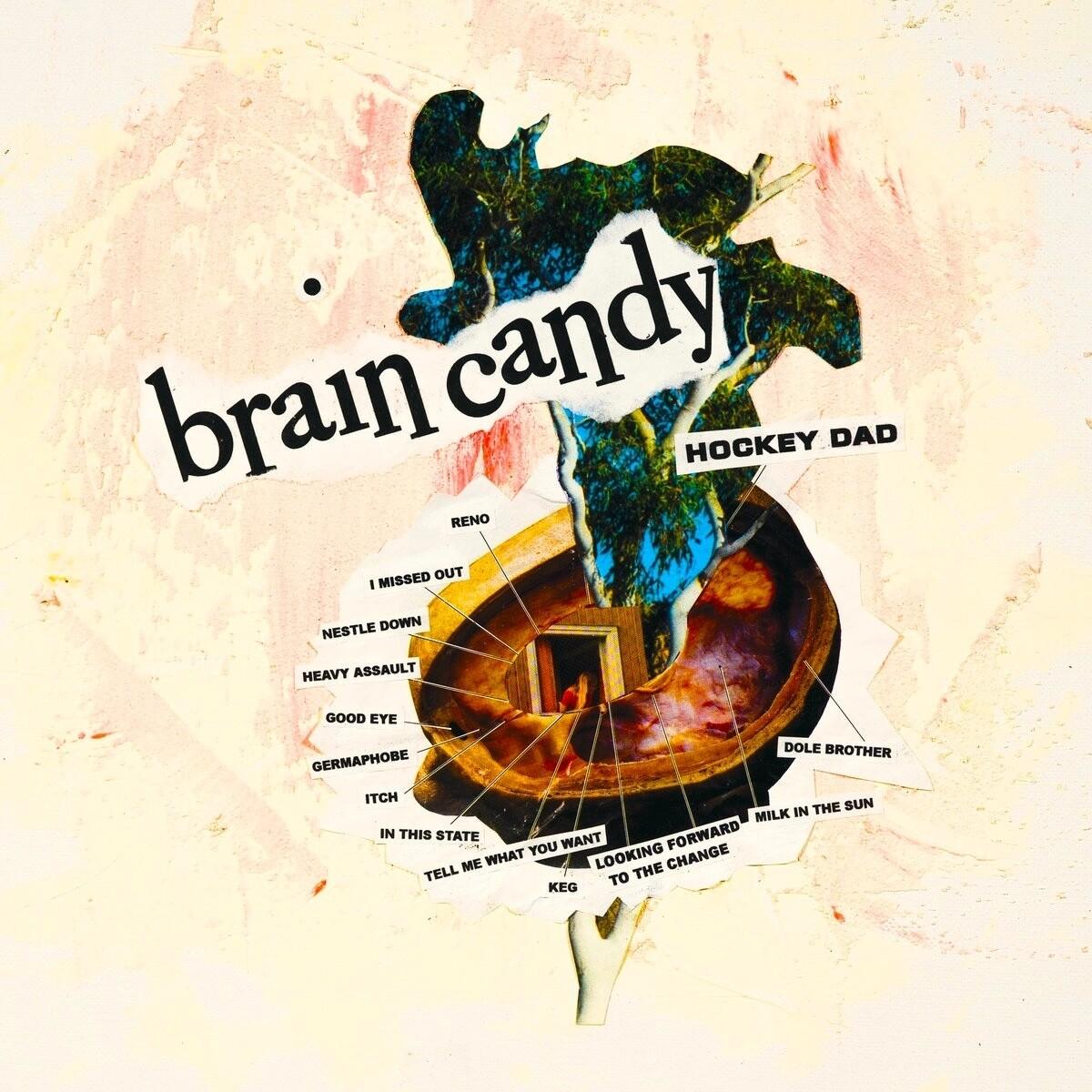 Hockey Dad - Brain Candy (Yellow) [LP]