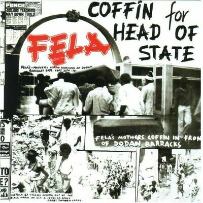Fela Kuti - Coffin For Head Of State [LP]