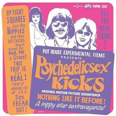 No Artist - Psychedelic Sex Kicks OST (White) [LP+DVD]