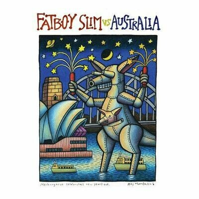 Fatboy Slim - Vs Australia (Grn/Gold) [LP]