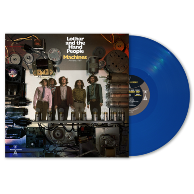 Lothar And The Hand People - Machines: Amherst 1969 (Blue) [LP]