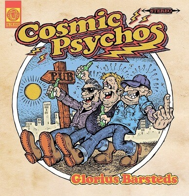 Cosmic Psychos - Glorius Barsteds [LP], Ltd, RE, (Blue)