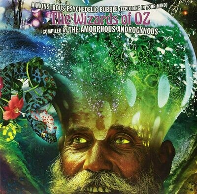Amorphous Androgynous - A Monstrous Psychedelic Bubble Exploding In Your Mind - The Wizards Of Oz [2LP], Comp, Mixed, Gat