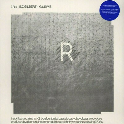Bruce Gilbert · Graham Lewis - 3R4 [LP], RE