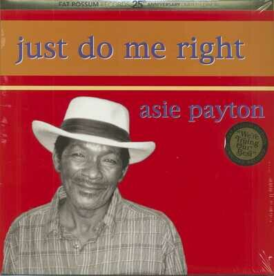 Asie Payton - Just Do Me Right [LP]