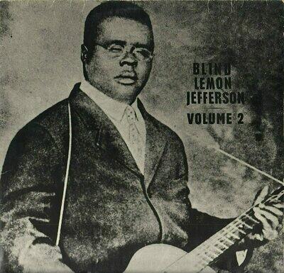Blind Lemon Jefferson - Volume 2 [LP]