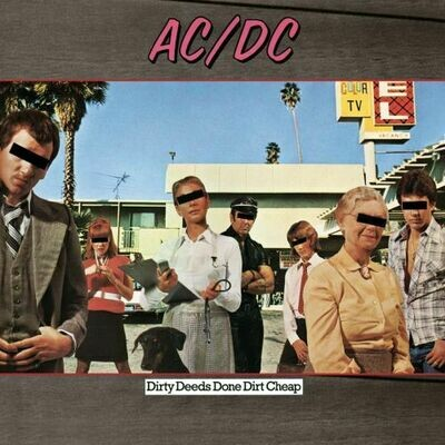 AC/DC - Dirty Deeds Done Dirt Cheap [LP]