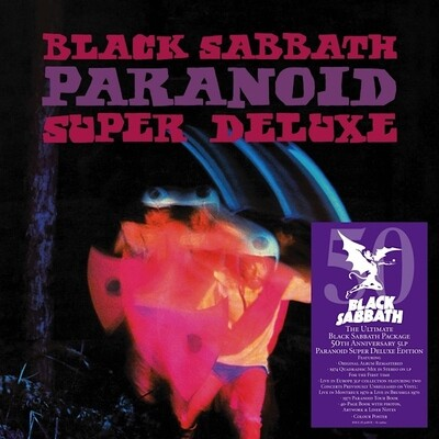 Black Sabbath - Paranoid (Super Deluxe Edition) [5LP/Book/Box]