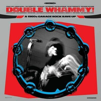 Various - Double Whammy! A 1960s Garage Rock Rave-up (Blue) [LP]