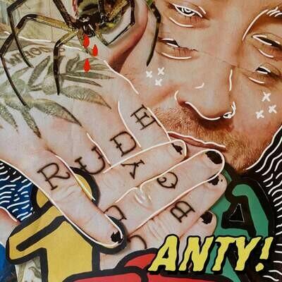 Anty - Rude Boy (Starburst Splatter) [LP]