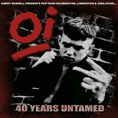 Various - Oi! 40 Years Untamed [LP]
