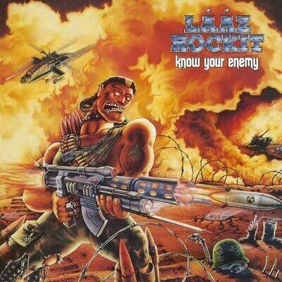 Laaz Rockit - Know Your Enemy [LP]
