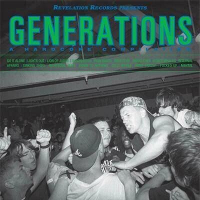 Various - Generations: A Hardcore Compilation [LP], Comp, RP, Gre