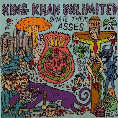 King Khan Unlimited - Opiate Them Asses (Coloured) [LP]