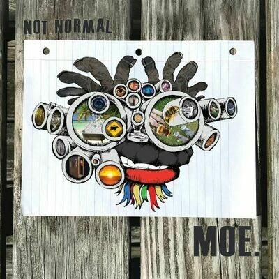 Moe. - Not Normal (Blue Galaxy) [LP]