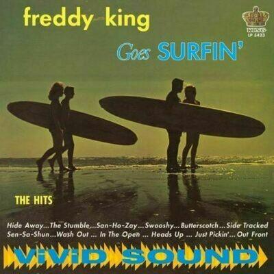 Freddy King - Freddy King Goes Surfin' [LP]
