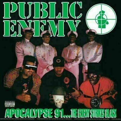 Public Enemy - Apocalypse 91...The Enemy Strikes Black (Green) [2LP]