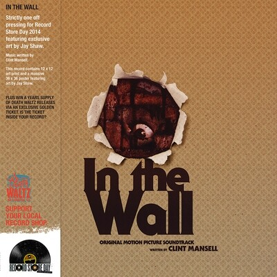 Clint Mansell - In The Wall (Original Motion Picture Soundtrack) [LP], Ltd, Bro