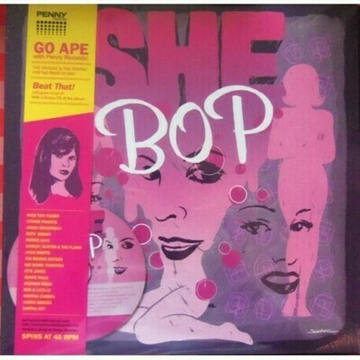 Various - She Bop [LP], Comp + CD