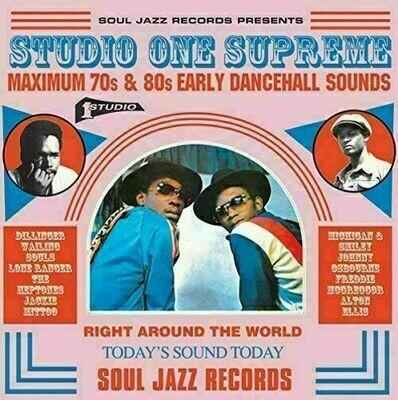 Various - Studio One Supreme: Maximum 70s and 80 Early Dancehall Sounds [3LP]
