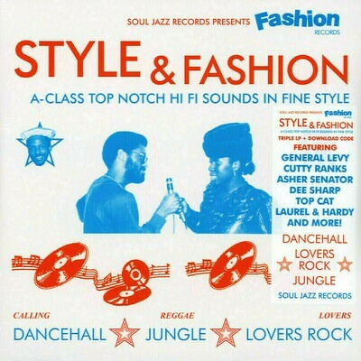 Various: Soul Jazz Presents - Fashion Records: Style & Fashion [3LP]