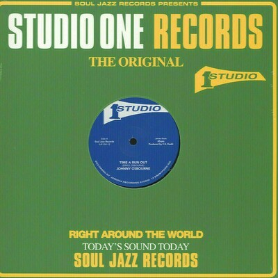 """Johnny Osbourne & Heptones & the Sound Dimension - Time a Run Out / Got to Fight [12""""]"""