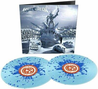 Helloween - My God Given Right (Blue Splatter) [2LP]