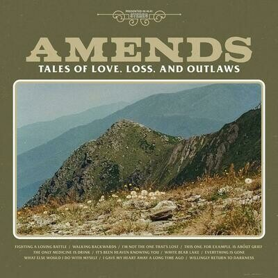 Amends - Tales Of Love. Loss & Outlaws (Clear) [LP]