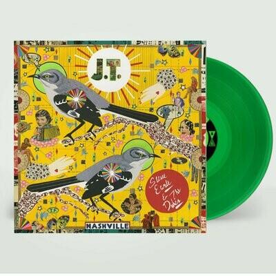 Steve Earle & The Dukes - J.T. (Green) [LP]