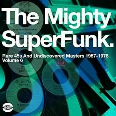 Various - Mighty Super Funk: Rare 45s & Undiscovered Masters 1967 to 1978 [2LP]