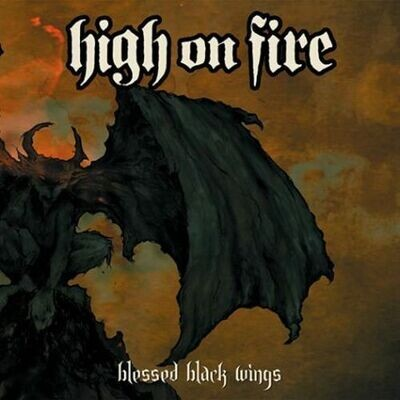 High On Fire - Blessed Black Wings (Swamp Grn Splatter) [2LP]