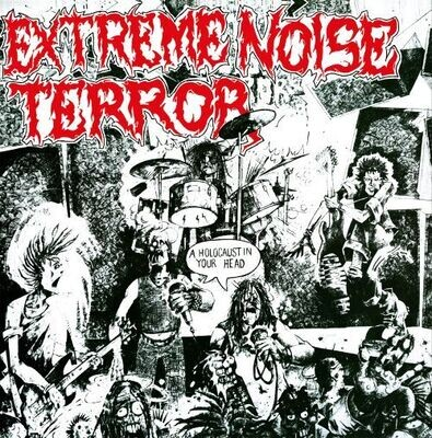 Extreme Noise Terror - Holocaust In Your Head (White) [LP]