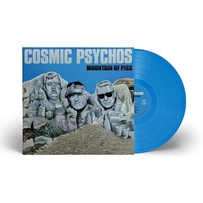 Cosmic Psychos - Mountain Of Piss (Blue) [LP] PRE-ORDER
