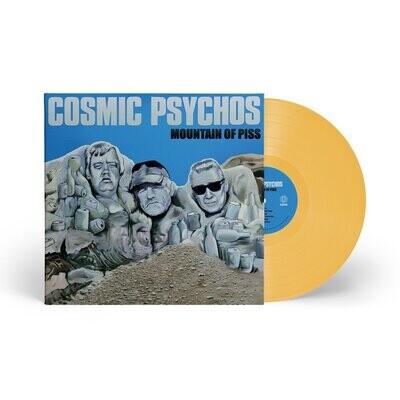 Cosmic Psychos - Mountain Of Piss (Yellow) [LP] PRE-ORDER
